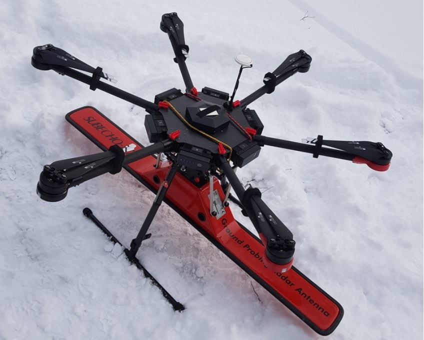 Drone Mounted GPR